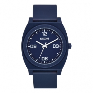 NIXON / THE TIME TELLER P CORP (MATTE NAVY/WHITE)