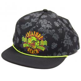 CREATURE / LAST RESORT SNAPBACK CAP (BLACK)