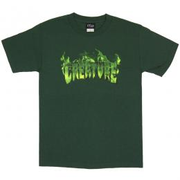 CREATURE / INFERNO TEE (FOREST GREEN)