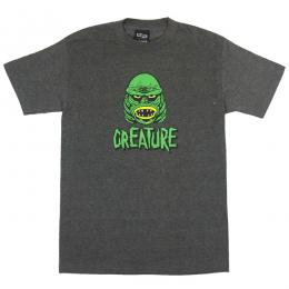 CREATURE / BLACK LAGOON TEE (CHARCOAL HEATHER)