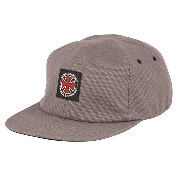 INDEPENDENT / APPLIED STRAPBACK CAP (GREY)