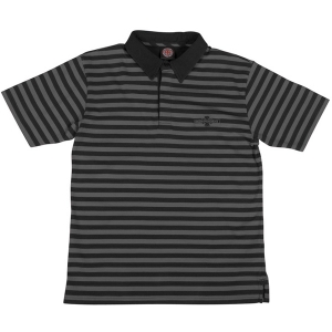 INDEPENDENT / METHOD S/S POLO (BLACK/GREY)