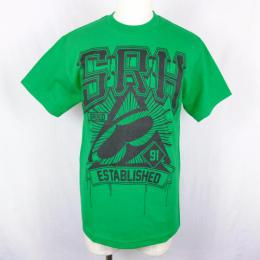 SRH / ALL SEEING TEE (GREEN)