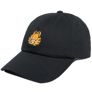 THE HUNDREDS / GARFIELD MOOD DAD HAT (BLACK)