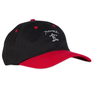 THRASHER / GONZ OLD TIMER HAT (BLACK/RED)