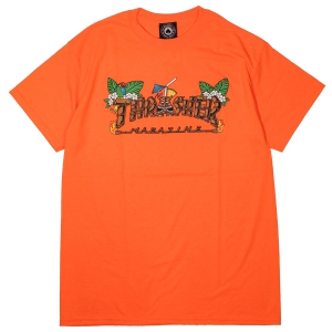 THRASHER / TIKI TEE (SAFETY ORANGE)
