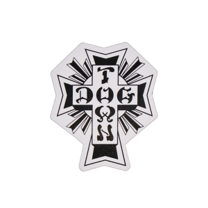 DOGTOWN / CROSS LOGO STICKER 2""