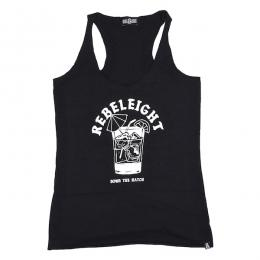 REBEL8 / DOWN THE HATCH RACERBACK TANK TOP (BLACK)