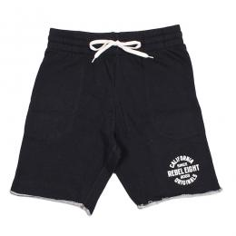 REBEL8 / ENDURING TRACK SHORT (BLACK)