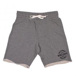 REBEL8 / ENDURING TRACK SHORT (ATHLETIC HEATHER)