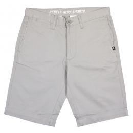 REBEL8 / WORK SHORT (GREY)