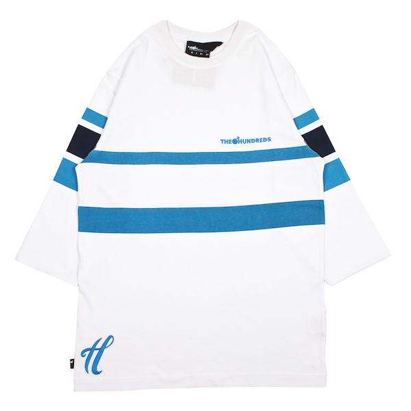 THE HUNDREDS / THOMAS 3/4 TEE (WHITE)