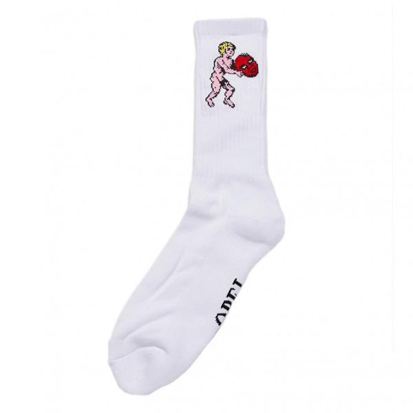 OBEY / CUPID SOCKS (WHITE)