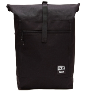 OBEY / CONDITIONS ROLL TOP BAG III (BLACK)