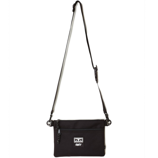 OBEY / CONDITIONS SIDE BAG III (BLACK)