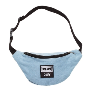 OBEY / WASTED HIP BAG (DENIM)
