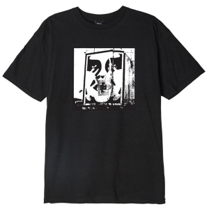 OBEY / BOMB THE PLANET BASIC TEE (BLACK)