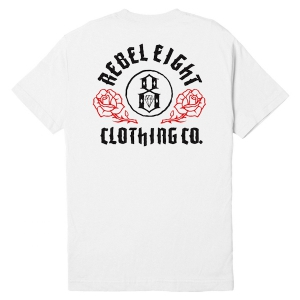 REBEL8 / CEREMONY TEE (WHITE)