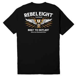 REBEL8 / SURVIVE POCKET TEE (BLACK)