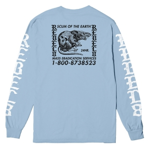 REBEL8 / 24 HR L/S TEE (POWDER BLUE)