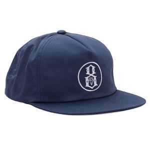 REBEL8 / GROUNDWORKS SNAPBACK CAP (NAVY)