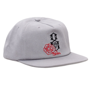 REBEL8 / CEREMONY SNAPBACK CAP (GREY)