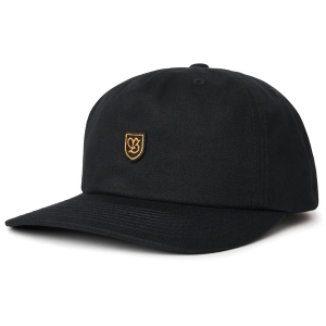 BRIXTON / B-SHIELD MP SNAPBACK CAP (BLACK)