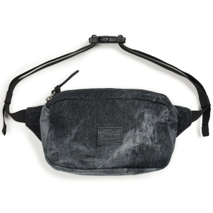BRIXTON / STEWART HIP PACK (BLACK ACID WASH)