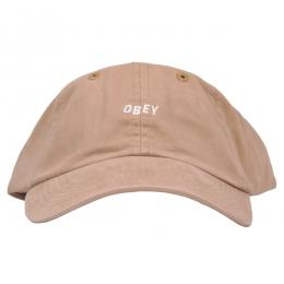 OBEY / JUMBLE BAR II 6-PANEL CAP (SAND)