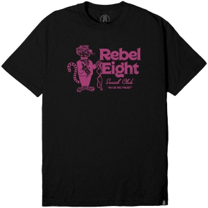 REBEL8 / TAILS TEE (BLACK)