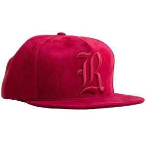 REBEL8 / YORK SNAPBACK CAP (MAROON)