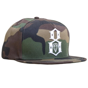 REBEL8 / STILL-HUNT SNAPBACK CAP (CAMO)