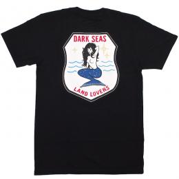 DARK SEAS / LAND LOVER PREMIUM TEE (BLACK)