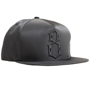REBEL8 / VEILED SNAPBACK CAP (BLACK)