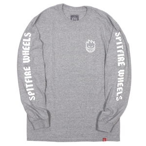 SPITFIRE / LIL BIGHEAD HOMBLE L/S TEE (ATHLETIC HEATHER)