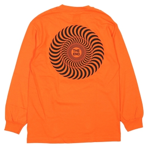 SPITFIRE / COVERT CLASSIC L/S TEE (ORANGE)