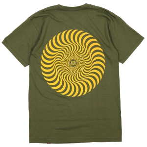 SPITFIRE / CLASSIC SWIRL TEE (MILITARY GREEN)
