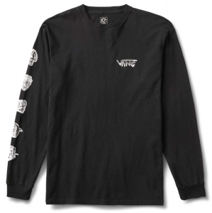 VANS / ROWAN ZORILLA FACES L/S TEE (BLACK)