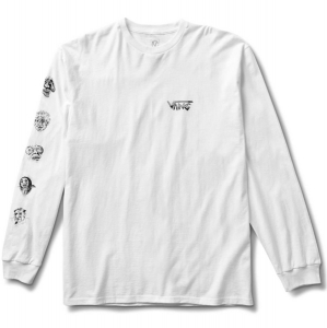 VANS / ROWAN ZORILLA FACES L/S TEE (WHITE)