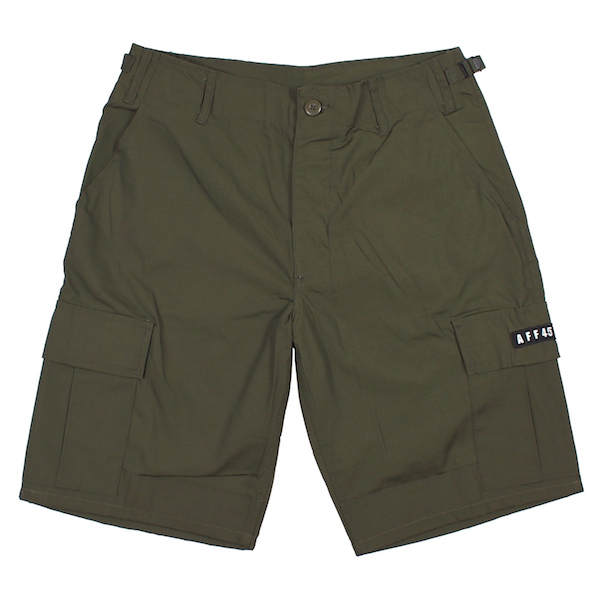 AFFECTER / AFF ARMY SHORTS (OLIVE)