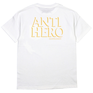ANTIHERO / DROPHERO POCKET TEE (WHITE)
