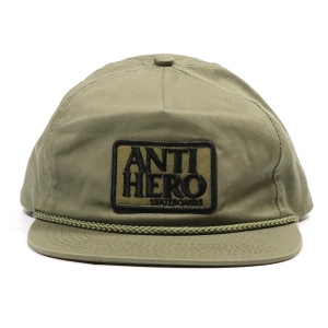 ANTIHERO / RESERVE PATCH SNAPBACK CAP (ALOE GREEN)