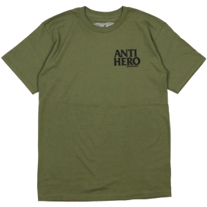 ANTIHERO / LIL BLACKHERO TEE (MILITARY GREEN/BLACK)