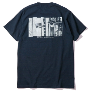 LZBN / ON THE BACKSTREET TEE (NAVY)