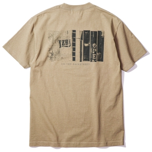 LZBN / ON THE BACKSTREET TEE (SAFARI GREEN)