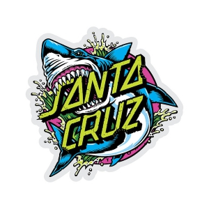 SANTA CRUZ / SHARK DOT STICKER 3""