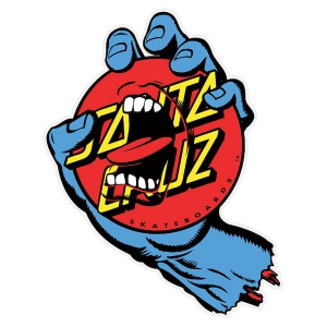SANTA CRUZ / SCREAMING DOT STICKER 6""
