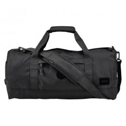 NIXON / PIPES DUFFLE BAG (ALL BLACK)