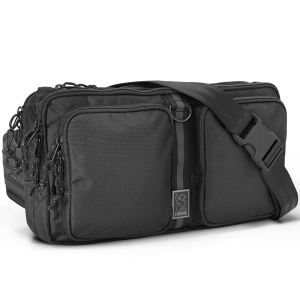 CHROME / MXD SEGMENT SLING BAG (BLACK)