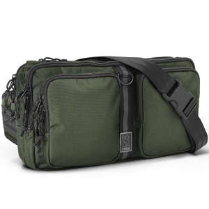 CHROME / MXD SEGMENT SLING BAG (OLIVE)